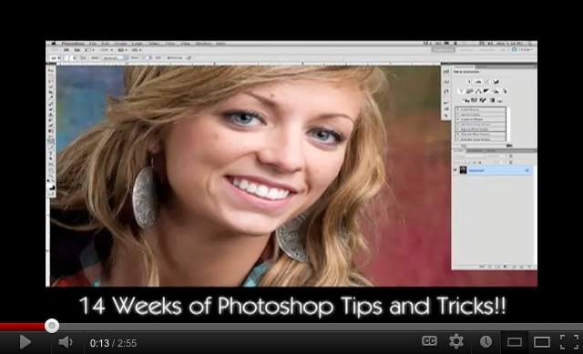 Sample of our 14 Week Adobe Photoshop Training