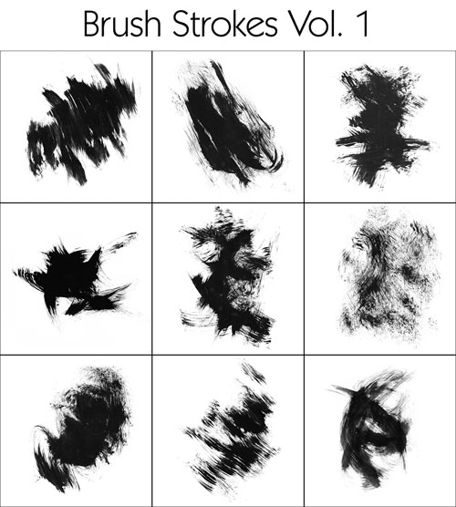Brush – Textures Vol 1-3