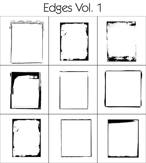 Brushes – Edges Vol. 1-4