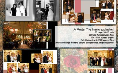 Wedding Album Template – 10×10 30 page