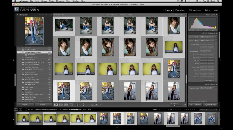Lightroom – No.1 Workflow Part I