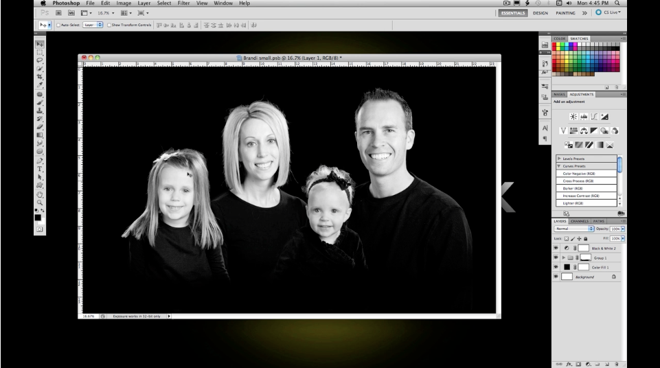 Photoshop – No.42 Classic family Composite Part II