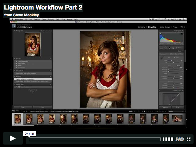 Lightroom – No.3 workflow Part III