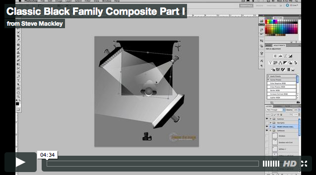 Photoshop – No.41 Classic Family Composite Part I