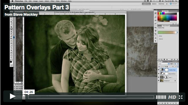 Photoshop – No.32 Pattern Overlays Part III