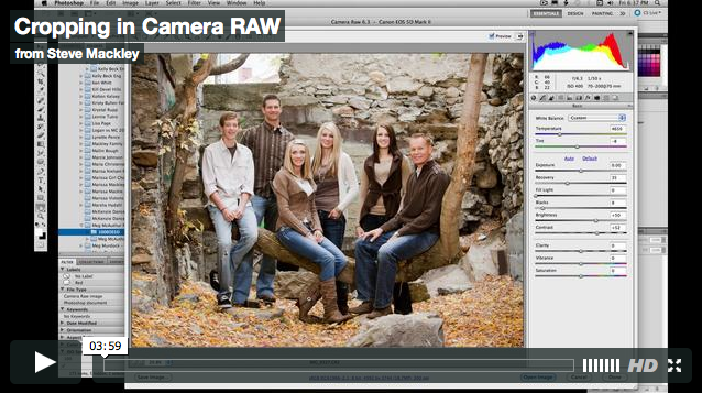 Photoshop – No.29 Sizing Up in Camera RAW