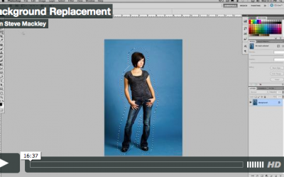 Photoshop – No.24 Background Replacement