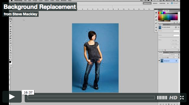 Photoshop – No.36 Switching the Background