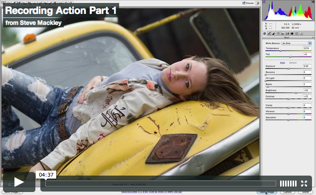 Photoshop – No.11 Making ACTIONS Part I