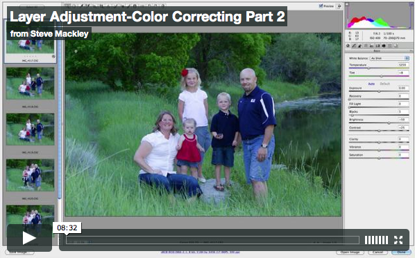 Photoshop – No.6 Color Correcting Part II