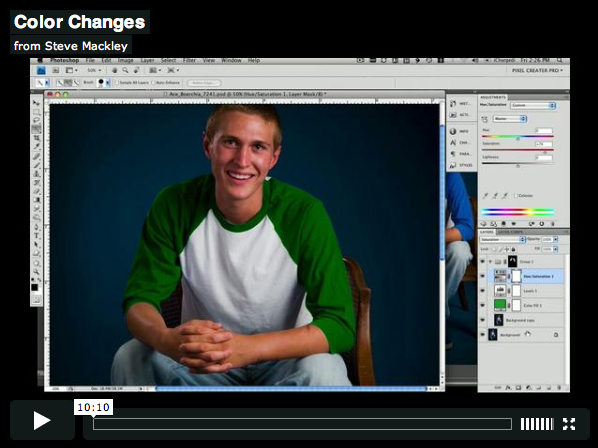 Photoshop – No.2 Clothing Color Change