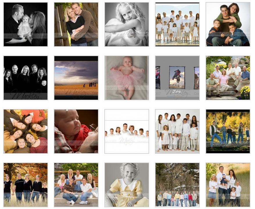 Family Posing Samples Vol 1