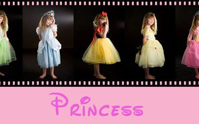 Template – Princess Collage