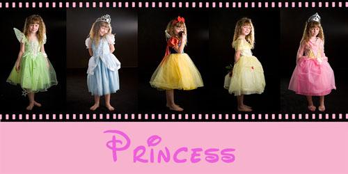 Template – Princess Collage