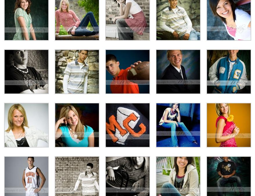 Senior Posing Samples – Vol. 2