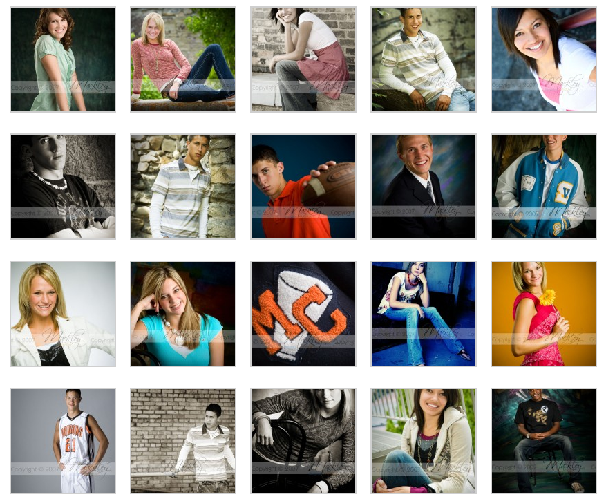 Senior Posing Samples Vol. 2