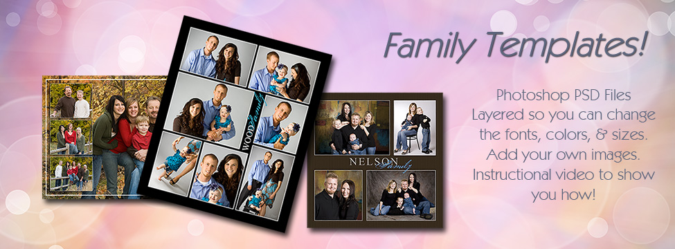 UNLIMITED FAMILY TEMPLATES DOWNLOADS