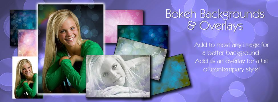 NEW BOKEH OVERLAYS & BACKGROUND